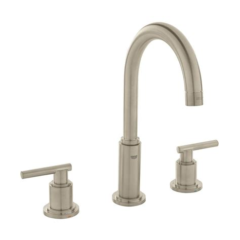grohe grandera 8 in widespread 2 handle high arc bathroom faucet in polished chrome 20419000 grohe parkfield 8 in widespread 2 handle 1 2 gpm bathroom