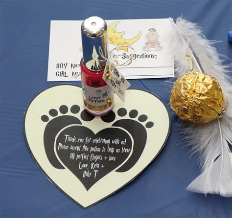 Nail Baby Shower Favor Poem by Harry Potter Baby Shower Favors Nail Potion