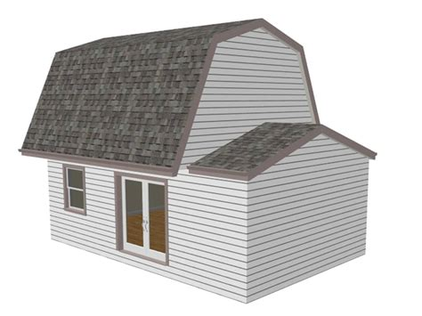 gambrel pole barn plans gambrel 16 x 20 shed plan pole barn plans