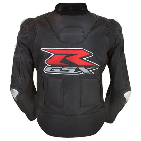 Suzuki Apparel Catalog Gsx R Leather Jacket Black Yamaha Sports Plaza