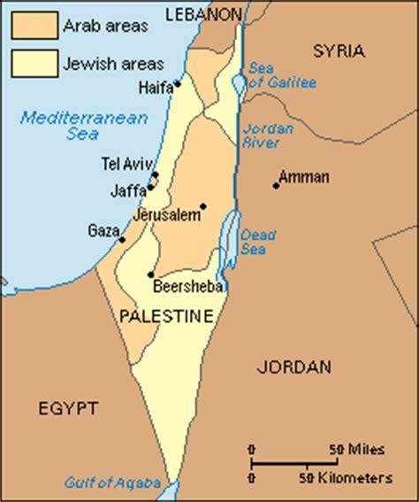 middle east map palestine israel palestine webquest