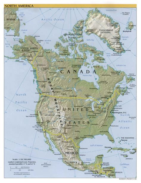 map of america with mountains mountain ranges in america