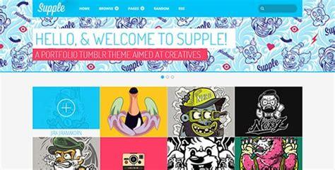 Free Tumblr Themes For Illustrators   35 free premium portfolio tumblr themes