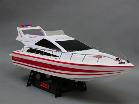 rc boat long battery life radio control rc boat yacht luxury power boat 8 4v twin