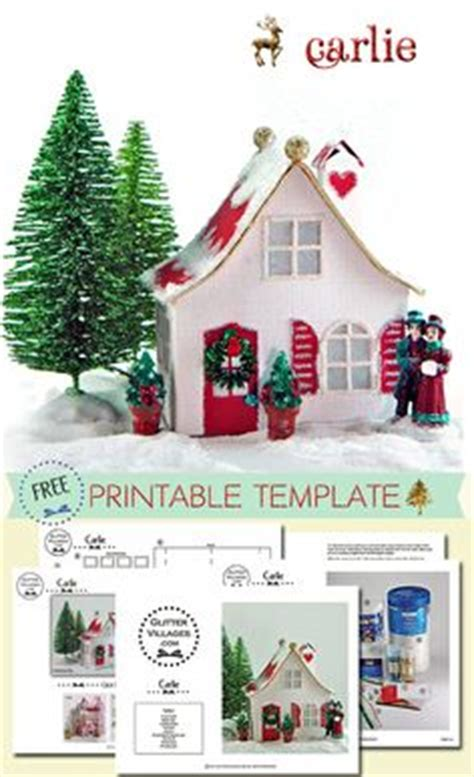 printable paper village 1000 images about christmas on pinterest christmas