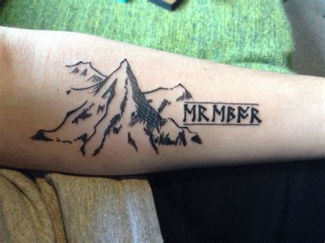 hobbit tattoo new the hobbit erebor the dwarvish says