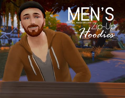 my sims 4 blog 02 11 16 my sims 4 blog zip up hoodies for males by marvinsims