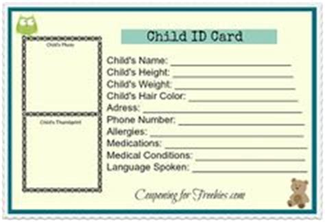 safety pin movement card template id card template in of emergency cards
