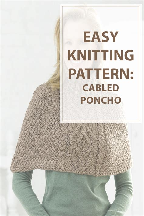 knitting abbreviations m1 knitting patterns cabled poncho hobbies