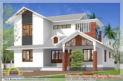 beautiful home elevation designs in 3d indian home decor