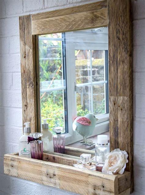 specchio bagno design specchio da bagno stile vintage con mensolina l60 h80 cm