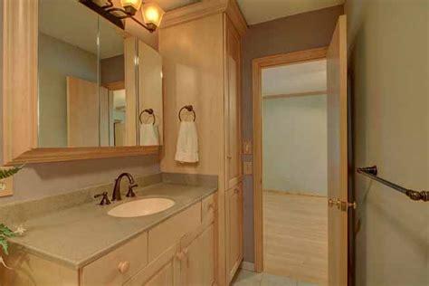 bathroom between two bedrooms contemporary brick home for sale walnut creek jenks schools