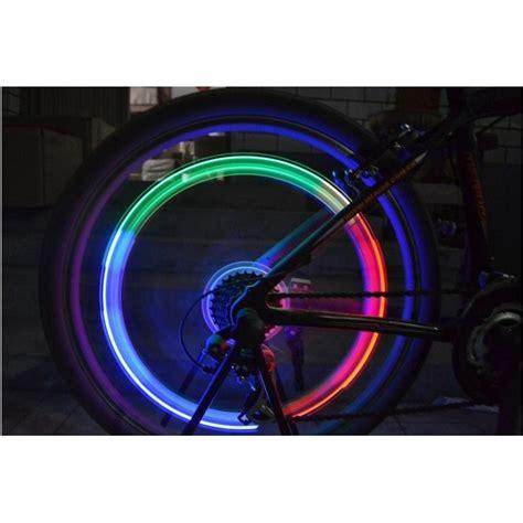 membuat lu led sepeda lu led ban sepeda bersepeda di malam hari menjadi lebih
