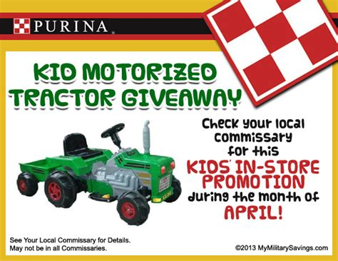Tractor Giveaway - purina kid tractor giveaway