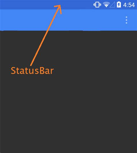 status bar color statusbar color change in android and ios xamarin