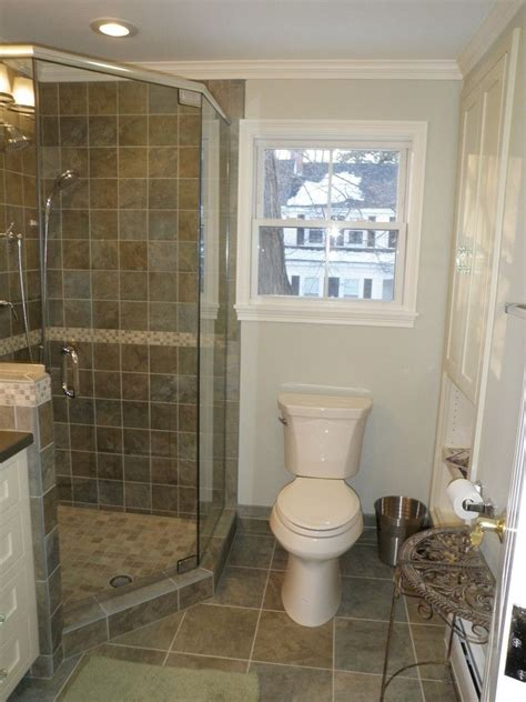 bathroom corner shower ideas graceful corner showers for small bathrooms image gallery