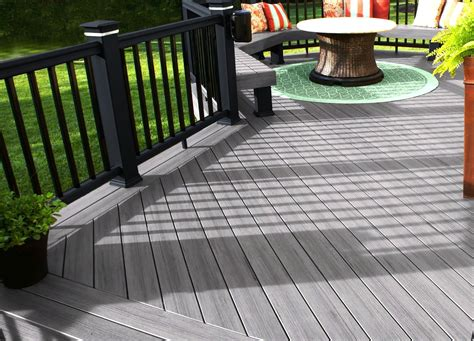decks lowes trex synthetic decking trex decking reviews
