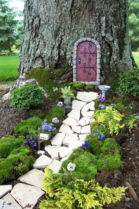 backyard fairy garden fairy garden idea outdoor ideas pinterest
