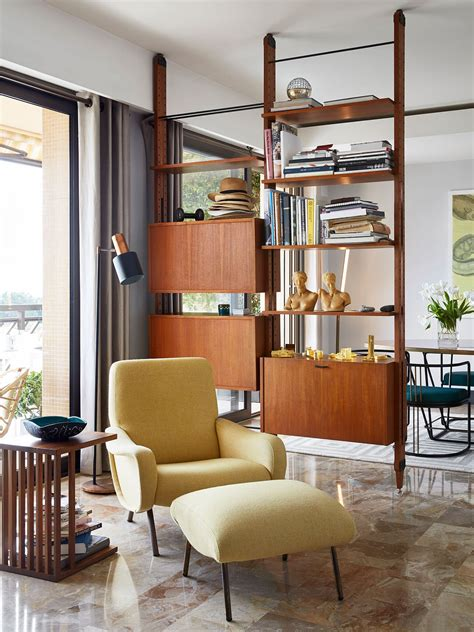 Open Shelving Room Divider The Timeless Luxury Of Grace Apartment In Monaco By Humbert Poyet Shelf Wall Grace O Malley