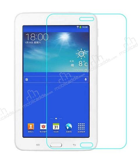 Tempered Glass Tab 3 eiroo samsung galaxy tab 3 lite 7 0 tempered glass tablet