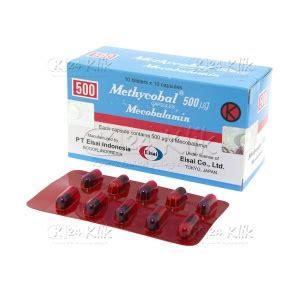 Obat Mecobalamin jual beli methycobal 500mcg cap k24klik