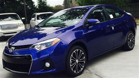 2016 Toyota Corolla S 2016 Toyota Corolla S Plus Review Start Up Exhaust