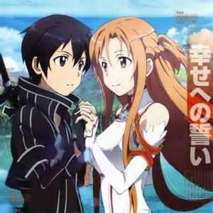 Kirito and asuna got married destiny archangel