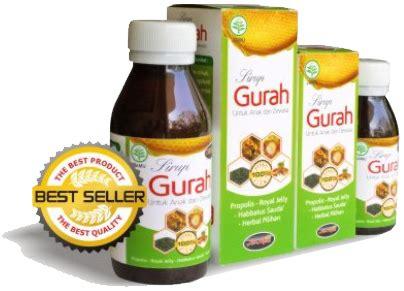 Sirup Madu Gurah 125ml sirup gurah 125 ml mengatasi masalah pernafasan flu dan