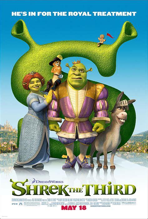 shrek movie shrek the third printable movies posters