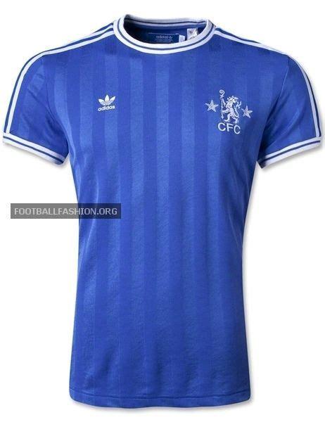 design jersey chelsea chelsea fc adidas originals retro home jersey soccer