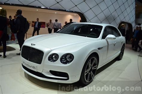 bentley flying spur v8 s geneva motor show live