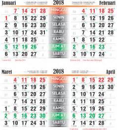 Kalender 2018 Bali Toko Fadhil Template Kalender 2018 06 2018 06