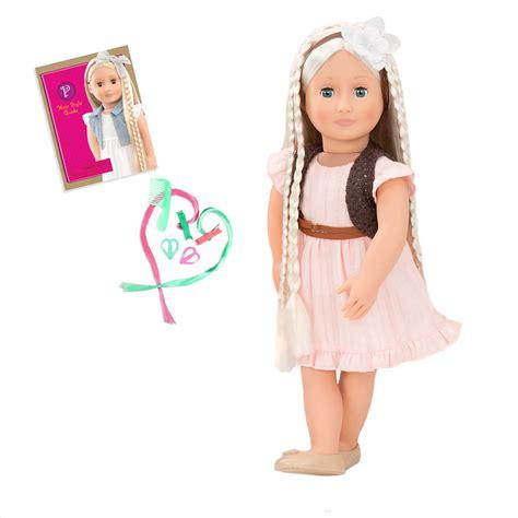 our generation og doll white hair play