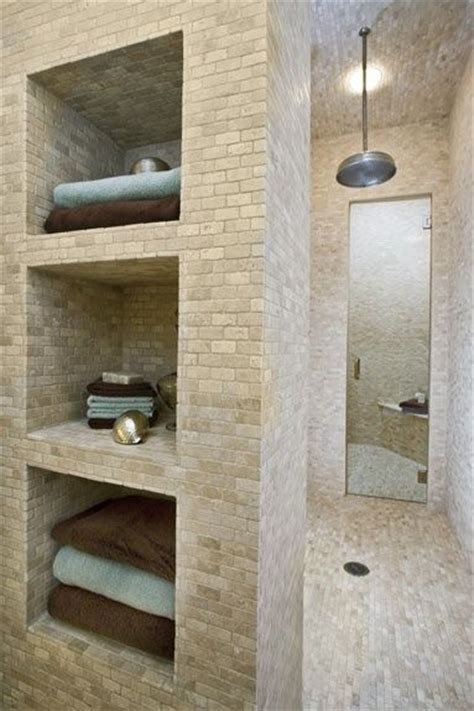 Badezimmer Cubbies by Walk In Shower With Storage By Brookeo For The Home