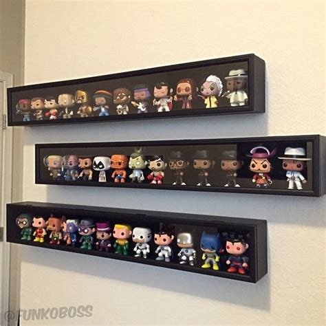 figure display shelves display by funkoboss display your funko collection