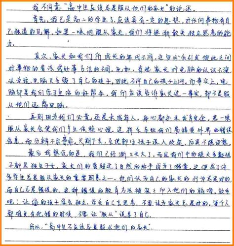 example of writing an essay resume
