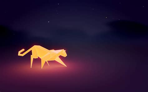 wallpaper poly cat cat low poly poly night wallpapers hd desktop and mobile