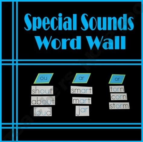 spelling pattern word wall 11 best special sounds images on pinterest word games