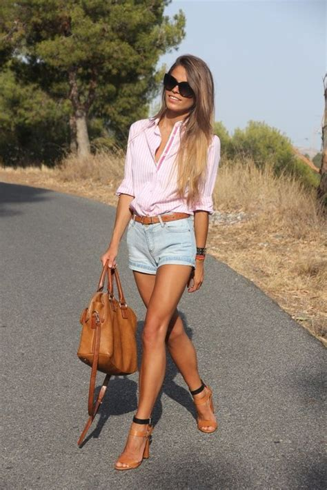 Simple Blouse 5916 summer fashion for simple and sleeve pink shirt click on picture to