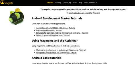 android layout vogella learn android online a guide codementor