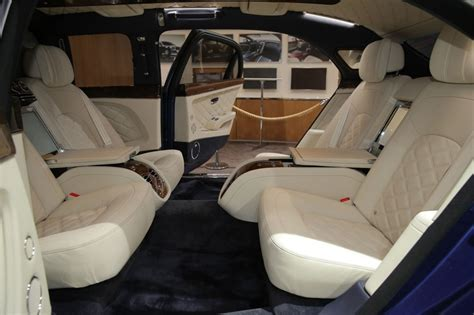 bentley mulsanne limo interior bentley mulsanne grand limousine by mulliner showcased in