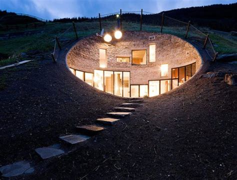 Environmentally Friendly House Plans by 6 Fascinating Underground Homes That Go Above And Beyond