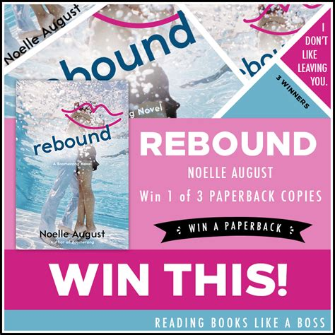 the rebound books book review rebound by noelle august reading books