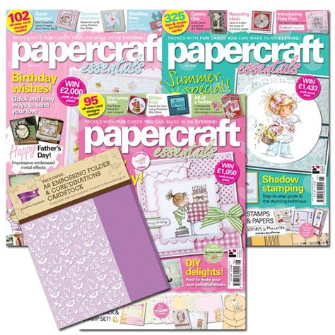 Paper Craft Magazines - papercraft magazine craft projects
