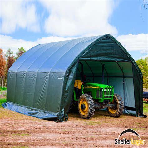 Motorrad Berwintern Carport by Shelterlogic Garage In A Box 23 8m 178 Inkl T 252 Ren Und