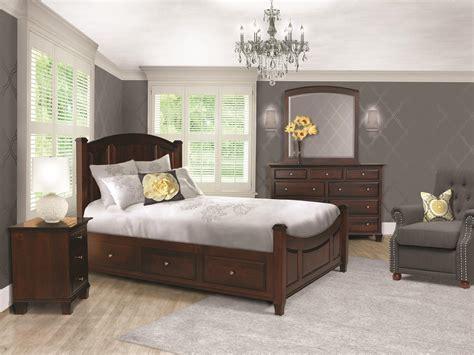 harmony  piece storage bedroom set  dutchcrafters