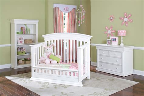 Cribs That Turn Into Size Beds by Legendary Curved Top Safety Gate Crib Converted Into