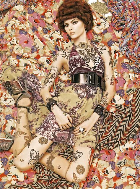 Fredrik Ljungberg Does Vogue Italia by Gustav Klimt Z Aparatem Arcydzieła Sztuki W Obiektywie