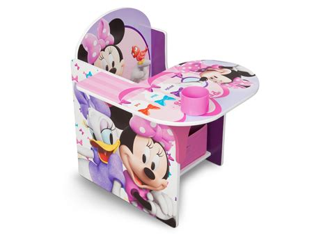 Ailubee Piyama Minnie Mouse Kidsz minnie mouse chair desk with storage bin delta children