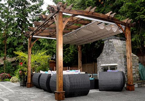 curved pergola kits 10 x12 arched pergola with retractable canopy